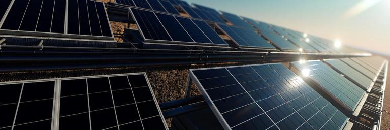Solarenergie Anlage