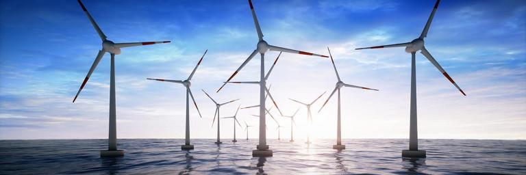 Windenergie Offshore Windpark
